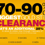 kohl's biggest clearance