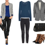 casual office outfit