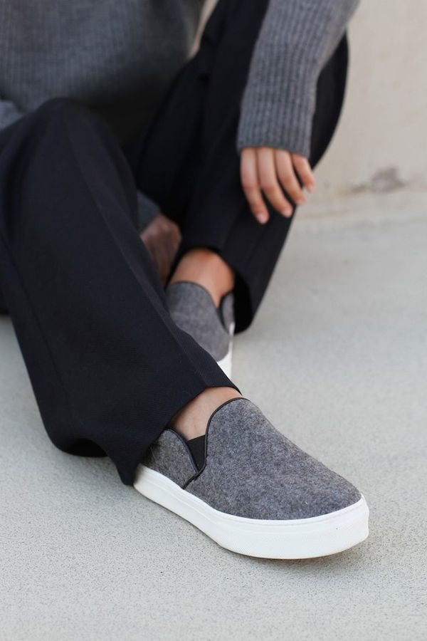 slip on sneakers outfit